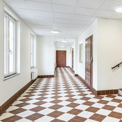 Trapphus korridor