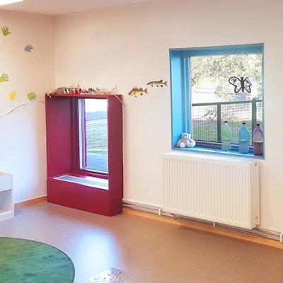 Interiört, Fönster i avdelning