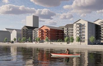 Norra Kajen får Sundsvall att växa